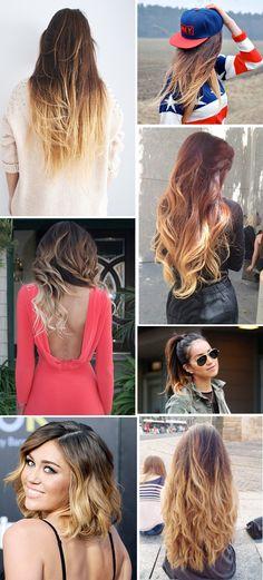 Ombre hair <3