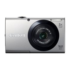 New Digital Camera, Canon Zoom Lens, Optical Image, Canon Powershot, Wide Angle Lens, Hd Video, Canon Cameras, Touch, Silver