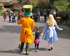 Alice and Mad Hatter _0001 by Disney-Grandpa, via Flickr