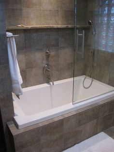 Lovely Soaker Tub Shower Combo Small Soaking Tub Shower Combo Spa Tub For Small Soaking Tub Shower Combo Bathtub And Shower Combo Spa Tub For Shower Tub Combo An Soaking Small Tub Soaker Tub Shower Co – 2018 Bedroom Gallery Guest Bathroom Remodel, Bathroom Tub Shower Combo, Tub Shower Combo, House Bathroom, Bathrooms Remodel, Soaking Tub Shower Combo, Small Remodel, Bathroom Renovations, Bathroom Design