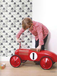 Papier peint #Lilipinso  http://www.lilipinso.com/fr/papier-peint-intisse-petit-london-grey