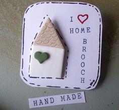 Anstecker - Brosche I LOVE....... - ein Designerstück von MIO-O bei DaWanda