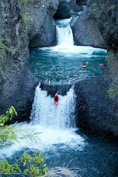 'Got Places To Go and People To See' kayaking, Pucon-Chile White Water Kayak, Les Cascades, Argentine, Whitewater Kayaking, Canoeing, Beautiful Waterfalls, Rafting, Monuments, The Great Outdoors