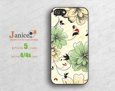 floral iphone  5c cases  iphone 5s caseiphone 4/4s by janicejing, $8.99