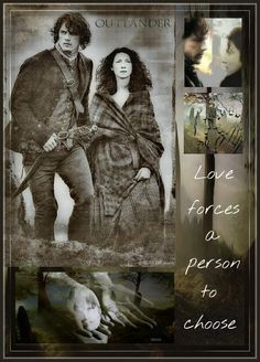 Love forces a person to choose. | Outlander S1bE11 'The Devil's Mark' on Starz | Costume Designer TERRY DRESBACH www.terrydresbach.com || Beautiful fan art!