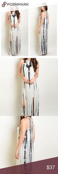 Spotted while shopping on Poshmark: ⚡️Closing Sale ⚡️Boho Tie Dye Slit Maxi Dress! #poshmark #fashion #shopping #style #Dresses & Skirts