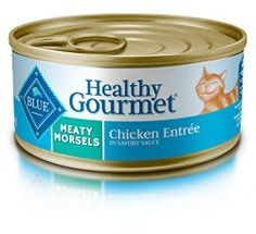Blue Buffalo Meaty Morsels Chicken Wet Cat Food, 5.5 oz Can, Pack of 24