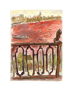Vista from Balcony - Bob Dylan