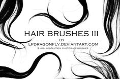 hair brushes III by ivadesign
