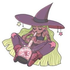 "butterpaws: "" stoner witch~ "" ah I love her - Site Title Marijuana Art, Cannabis Oil, Stoner Art, Weed Art, Witch Art, Witch Aesthetic, Hippie Art, Dope Art, Psychedelic Art"