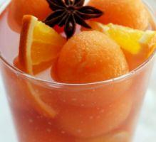 Recette - Sangria rose estivale au melon - Proposée par 750 grammes