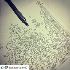 #Repost @hafizanhalim92 ・・・ Finished new work with Malay illumination. Salam Sahur