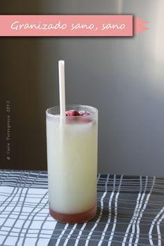 Receta: granizado de limón y melón