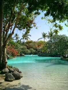 NUSA ISLAND - BALI INDONESIA Nusa Ceningan. It is located in the westernmost part of the Lesser Sunda Islands
