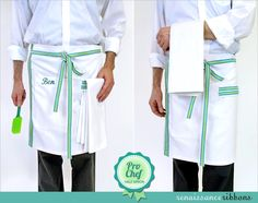 It's a Pro Chef Apron - how cool! Sew this up for your top chef! From @Sew4Home #sewing