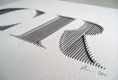 Letter R | Ink | Watercolor | Typography | Lettering