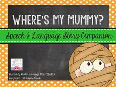 Where's My Mummy? Story Sequencing, Sequencing Activities, Group Activities, Speech Language Pathology, Speech And Language, Word Sentences, Reading Stories, Comprehension Questions, Story Characters