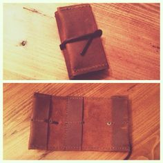 Handmade leather cf card wallet! #mlleather #theleathernomad