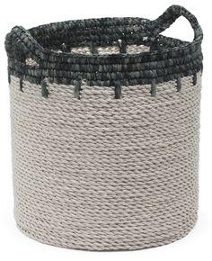 Large Raffia Storage Basket