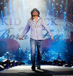 I've seen Kid Rock 13 times in concert.