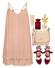 """Preadored 8.26"" by emilypondng ❤ liked on Polyvore featuring MICHAEL Michael Kors, Laura Mercier, River Island, Alexandre Birman, Giorgio Armani and PreAdored"
