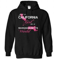 (CAJustHong001) Just A California Girl In A Massachuset - #under armour hoodie #hoodie schnittmuster. BEST BUY => https://www.sunfrog.com/Valentines/-28CAJustHong001-29-Just-A-California-Girl-In-A-Massachusetts-World-Black-Hoodie.html?68278