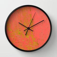 Låverød Wall Clock by lisnas Wall Clock Frame, Unique Wall Clocks, Natural Wood, Crystals, Store, Storage, Crystals Minerals, Shop, Crystal