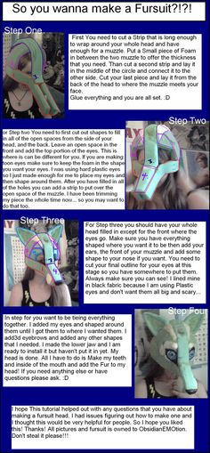 deviantART: Más Fursuit tutorial de Como by ~ LeSaVy