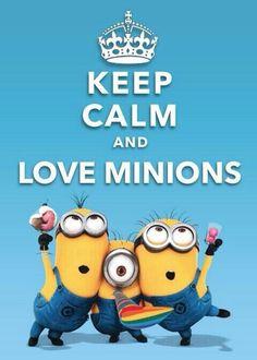 Keep calm_minions