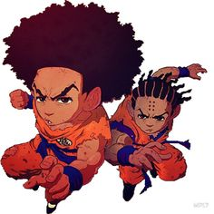 The Boondocks: Stickers | Redbubblen