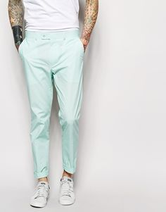 ASOS Slim Fit Suit Trousers In Poplin http://asos.do/4AQxvv