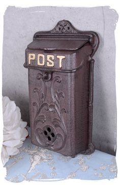 Retro Briefkasten Antik Stil Wandbriefkasten Landhausstil