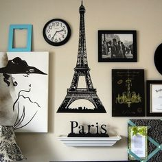 French Decorating- i would so luv this for my sister Paris Living Rooms, Paris Rooms, Paris Bedroom, Bedroom Themes, Bedroom Decor, Living Room Decor, Bedroom Ideas, George Nelson, Paris Room Decor