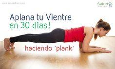 Con este simple ejercicio pondrás tu cuerpo en forma en 1 mes