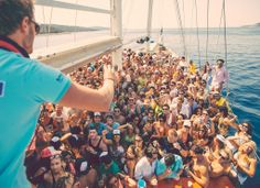 Crew boat party in Hvar....you would be surprised how awsome can it be ! #partyboat #hvarparty #sailweekcroatia