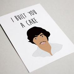 Great birthday card! If you watched Napoleon Dynamite then you will understand this card 😂. Pedro rules! . . . =========================== #napoleondynamite #builtheracake #builtcake #napoleondynamitequotes #birthdaycard #birthdaygift #happybirthday #etsy #pedro #pedronapoleondynamite