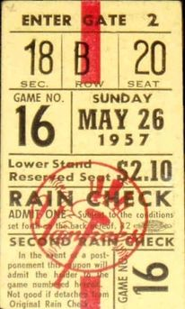 a time to get: Vintage Baseball Tickets — Designspiration