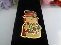 15% off w/Coupon 21417Vintage Snowman Pin by CCCsVintageJewelry