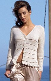 Cotton Cardigan Knitting Pattern : 1000+ images about summer knits on Pinterest Summer Knitting, Knits and Gra...
