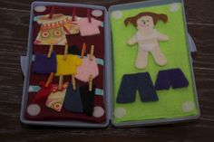 Baby Wipes Case Felt Dress Up