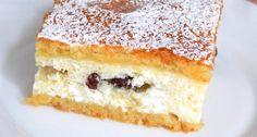 Túrós pite recept | APRÓSÉF.HU - receptek képekkel Hungarian Desserts, Hungarian Cuisine, Hungarian Recipes, No Bake Desserts, Dessert Recipes, Trifle, Vanilla Cake, Nutella, Biscotti