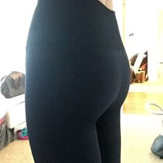 Lululemon FULL length Dark Blue Leggings NEW with tags! These are full length! They look black but they are a pretty deep dark blue! High waisted compression tights, I wear my black ones for everything! Held in sensation size 4. I need a 6 so would trade if it's brand new and this color! lululemon athletica Pants Leggings