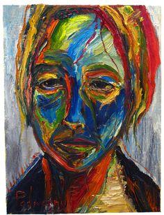UNTITLED q455   -by David Padworny   #Original #Painting (Oil painting) #Art #Drawing