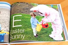 DIY Personalized Alphabet Book using your own photos.