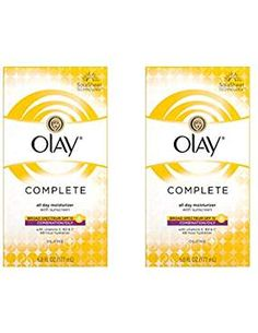 Face Moisturizer by Olay Complete Lotion All Day Face Moisturizer for Combination/Oily Skin with SPF 6 Fl Oz (Pack of Face Lotion, Facial Skin Care, Olay, Oily Skin, Moisturizer, Fragrance, Link, Image, Moisturiser