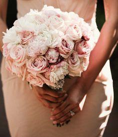#pink #wedding #bouqet