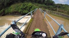 klx 150 and bridge