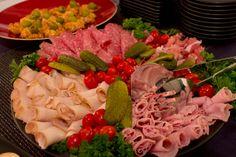 Halloween meat platter.