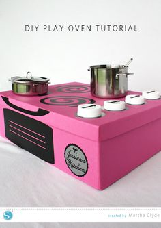 DIY Play Oven Tutorial   Martha Clyde for Silhouette