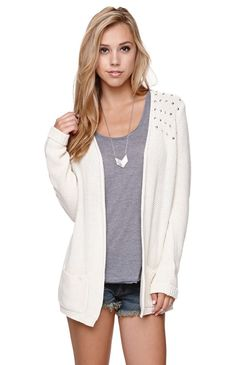 LA Hearts Studded Shoulder Cardigan...I think I might be a bit addicted to pacsun...